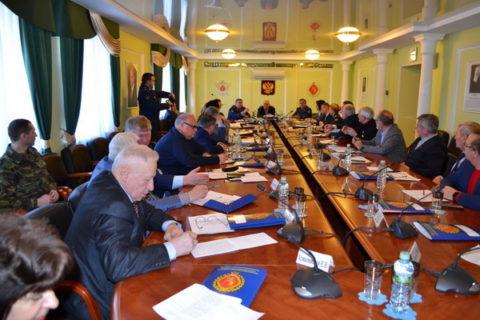 Выездное заседание Общественного совета при ФСИН России