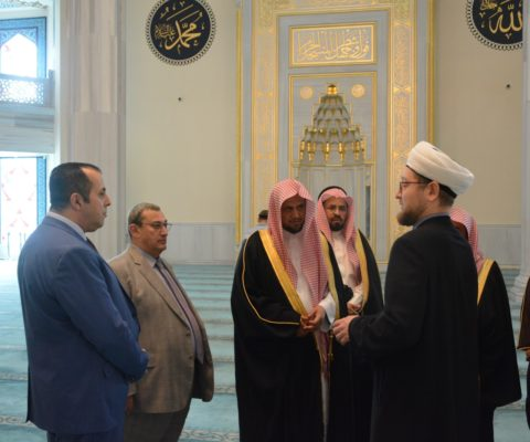 Муфтий Москвы встретился с Генеральным прокурором Королевства Саудовская Аравия