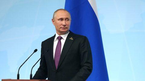 Поздравление Президента Владимира Путина с праздником Ураза Байрам