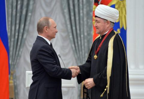 Председатель СМР и ДУМ РФ Муфтий Шейх Равиль Гайнутдин награжден орденом «За заслуги перед Отечеством» II степени