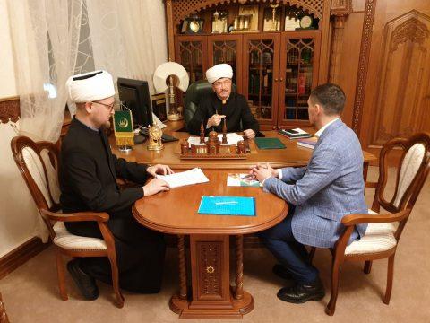 В Московской соборной мечети прошло совещание при участии Муфтия Шейха Равиля Гайнутдина