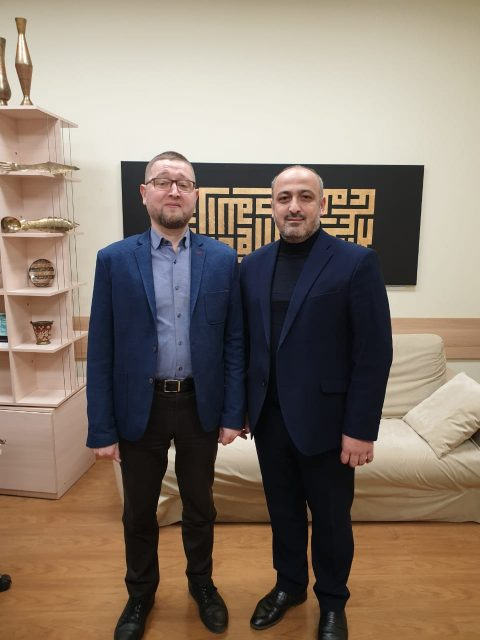 Ильдар Аляутдинов встретился с председателем фонда «Аль-Амин» Муратом Султановым