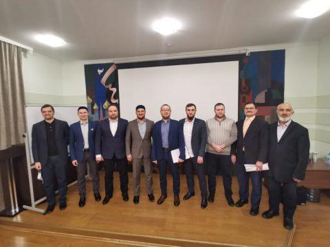 Ильдар Аляутдинов провел очередное собрание ДУМ Москвы