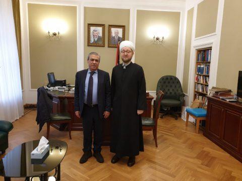 Муфтий Москвы: «Это проблема не отдельного народа или государства, это касается каждого из нас»