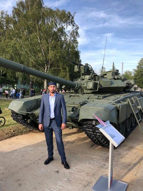 Сотрудник ДУМ Москвы принял участие в шестых Армейских международных играх