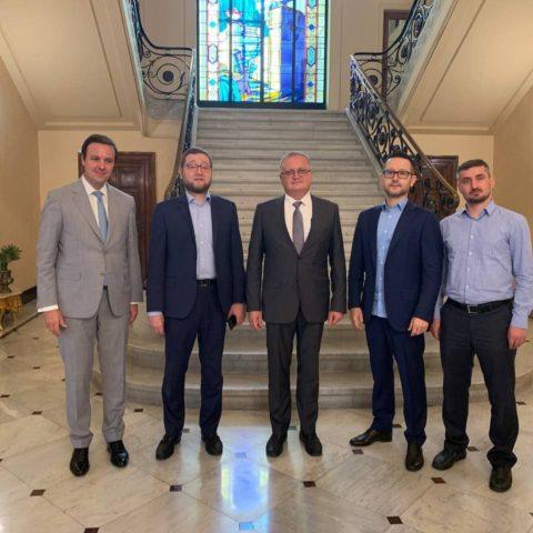 Делегация ДУМ РФ встретилась с Чрезвычайным и Полномочным Послом России в Египте Георгием Борисенко