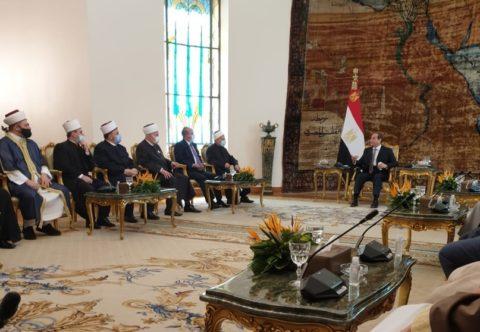 Муфтий Москвы представил Россию на встрече с президентом Египта